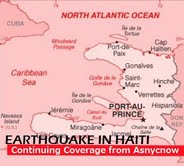 Earthquake Haiti coverage Asnycnow