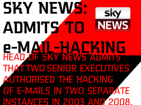 Sky News admits to E-mail hacking